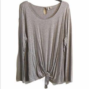 Grey cato top size 22 / 24w